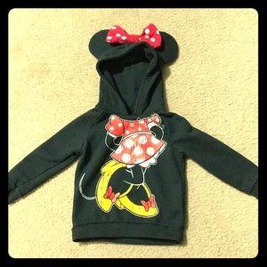 Minnie Mouse Ear Hoddie